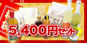 九重味淋 新春初売福袋5,400円セット